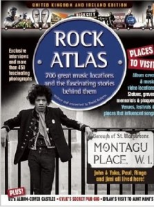 David Roberts, Rock Atlas: 700 great music locations and the fascinating stories behind them