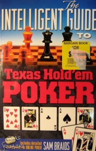 Sam Braids, The intelligent guide to Texas Hold'em Poker