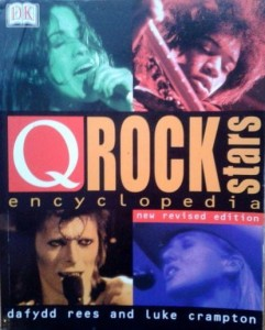 Dafydd Rees Luke Crampton, Q Rock Stars Encyclopedia