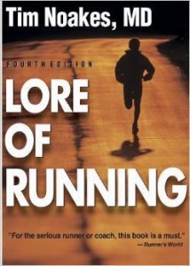 Tim Noakes, Lore of Running