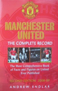 Andrew Endlar, Manchester United The Complete Record