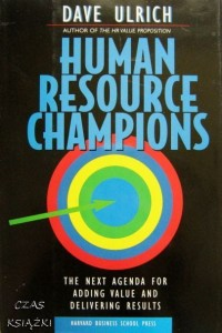 HR Human Resource Champions, Dave Ulrich