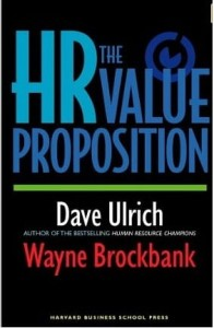 Dave Ulrich, The HR Value Proposition