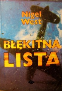 Nigel West, Błękitna lista