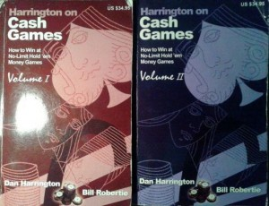 Dan Harrington Bill Robertie, Harrington on Cash Games tom 1+ tom 2