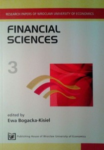 red.Ewa Bogacka-Kisiel, Financial Sciences 3