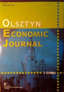 Olsztyn Economic Journal 3 (2/2008)