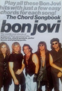 Peter Evans, The Chord Songbook Bon Jovi