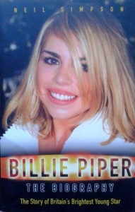 Neil Simpson, Billie Piper The biography
