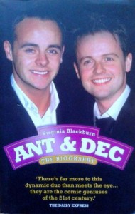 Virginia Blackburn, Ant&Dec The biography