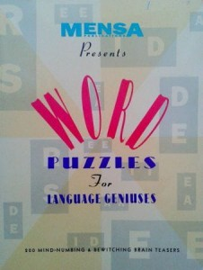 Harold Gale, MENSA Word Puzzles for language geniuses
