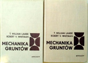 Lambe Whitman, Mechanika gruntów KOMPLET