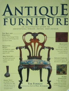 Tim Forrest, Antique Furniture An Illustrated Guide