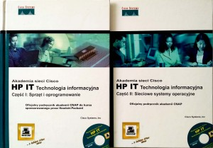 Akademia sieci Cisco, HP IT Technologia informacyjna 2 tomy