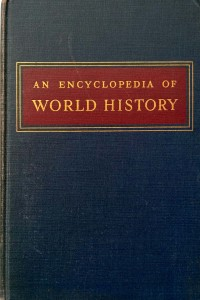 William L. Langer, An Encyclopedia of World History